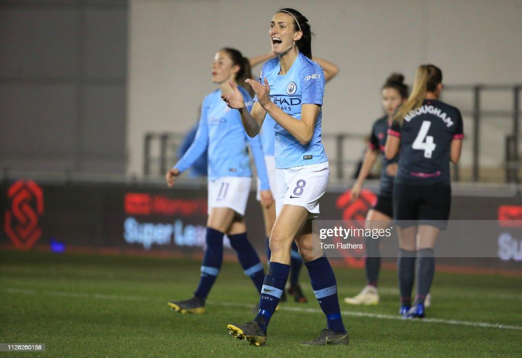 GBR: Manchester City Women v Everton Ladies: WSL