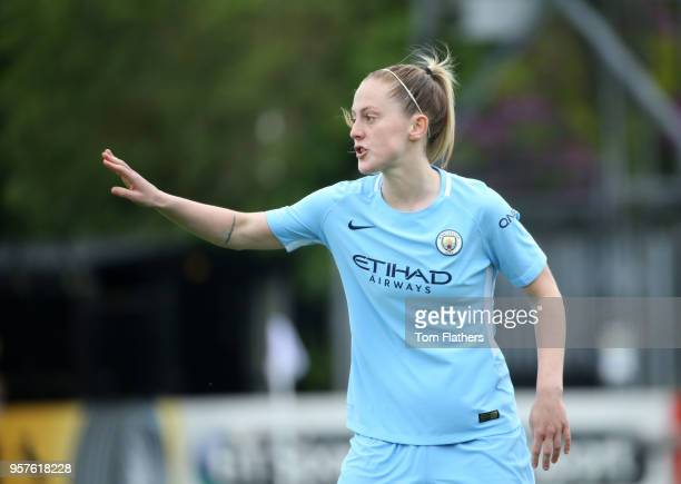 Manchester City's Keira Walsh in action during the WLS match between Arsenal Ladies and Manchester City Women on May 12 2018 in Sunderland England