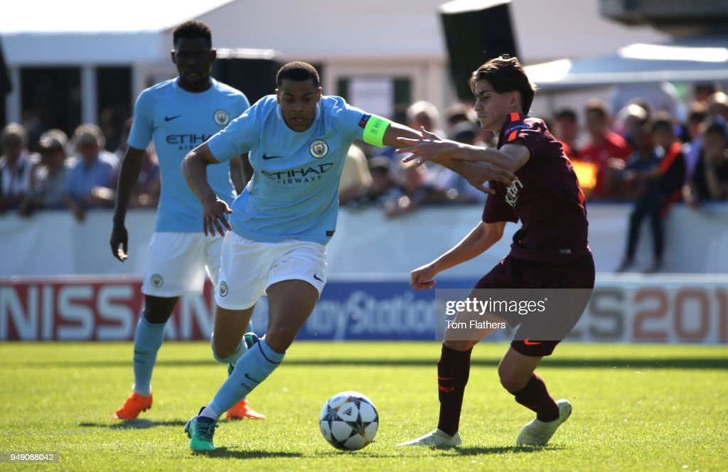 Manchester City v Barcelona - UEFA Youth League Semi Final