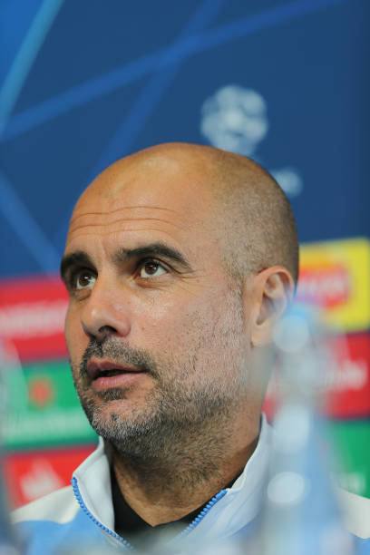 GBR: Manchester City Press Conference and Training Session