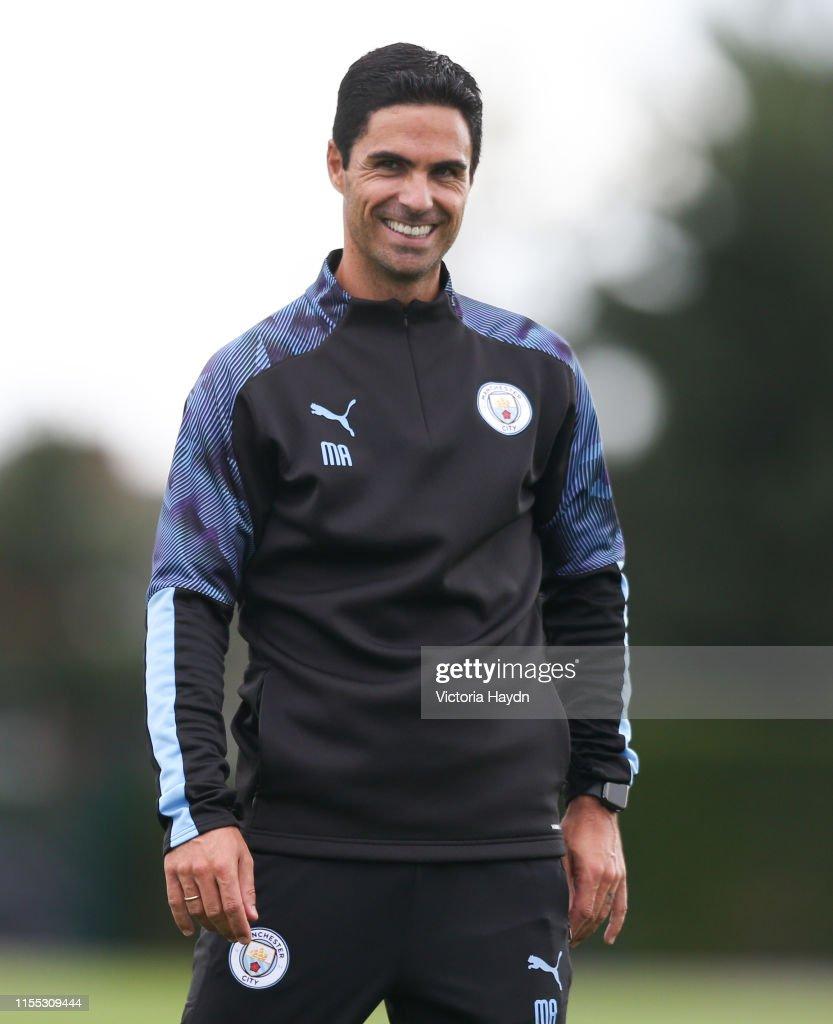 Manchester City Pre-Season Training Session : ニュース写真