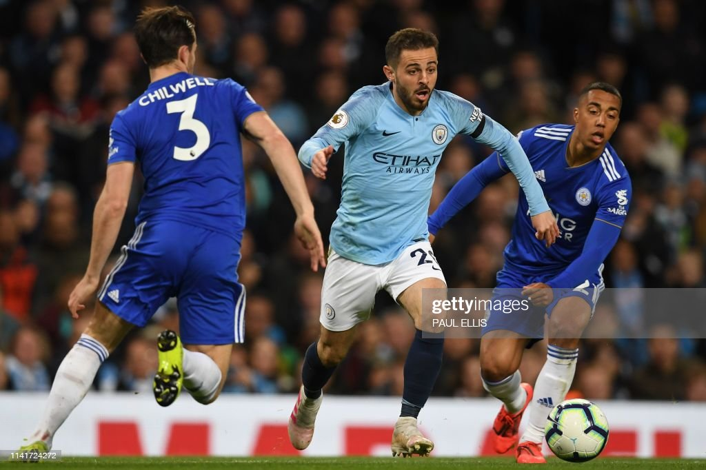 FBL-ENG-PR-MAN CITY-LEICESTER : News Photo