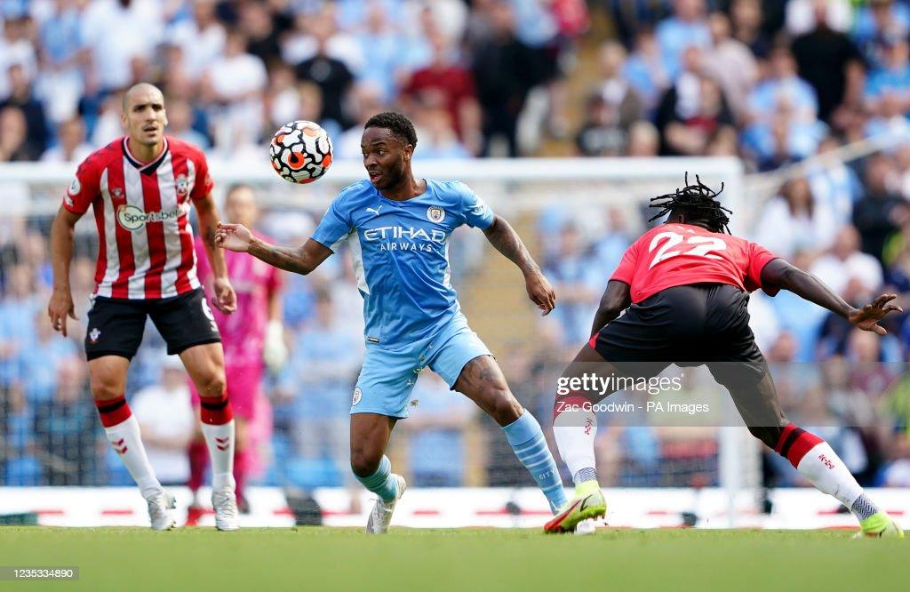 Manchester City v Southampton - Premier League - Etihad Stadium : News Photo
