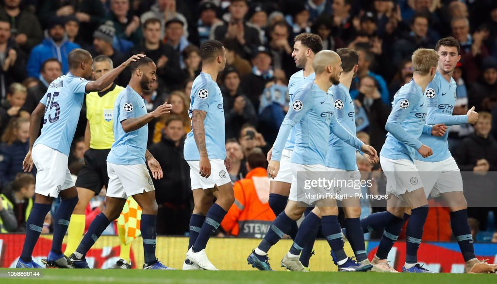 Manchester City v Shakhtar Donetsk - UEFA Champions League - Group F - Etihad Stadium : News Photo