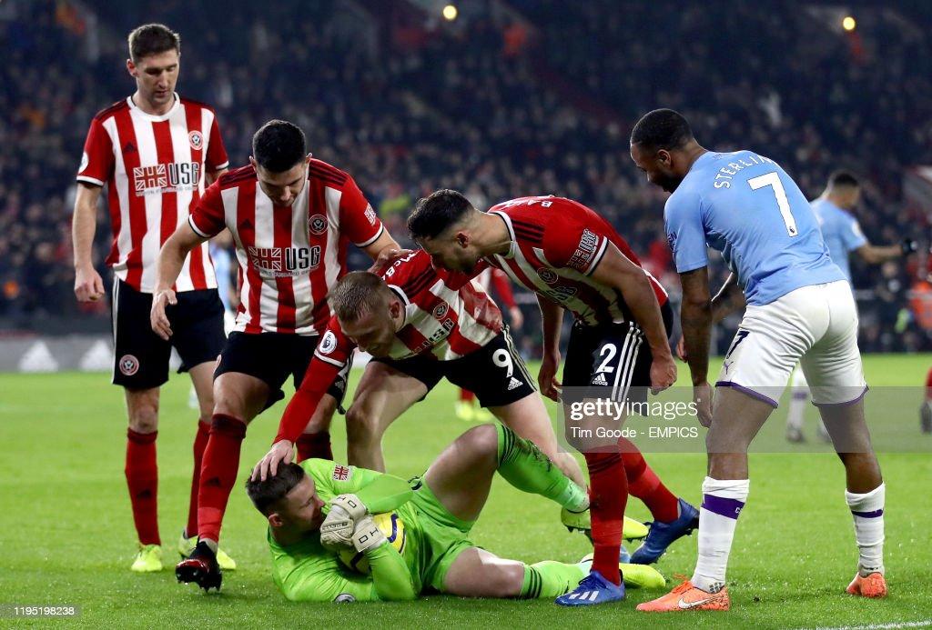 Sheffield United v Manchester City - Premier League - Bramall Lane : News Photo