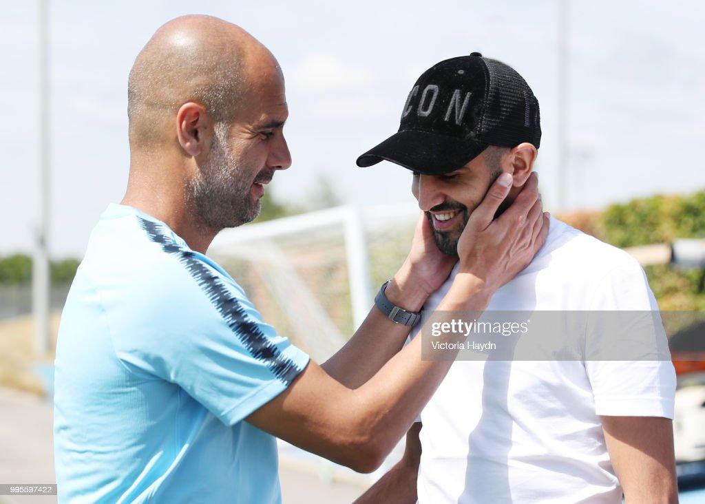 Manchester City Signs Riyad Mahrez : News Photo