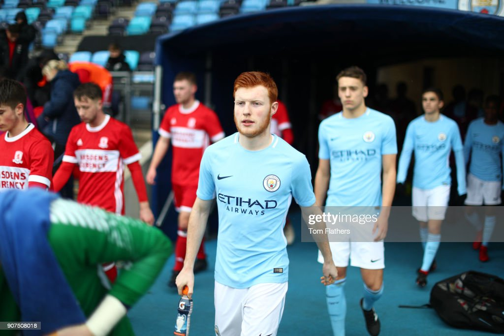 Manchester City v Middlesbrough - U18 Premier League