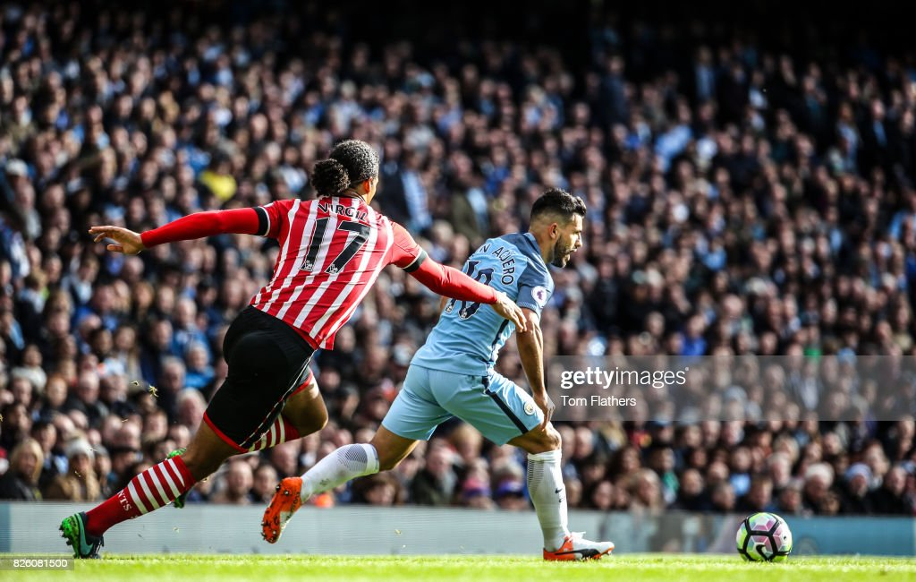 Manchester City v Southampton - Premier League - Etihad Stadium