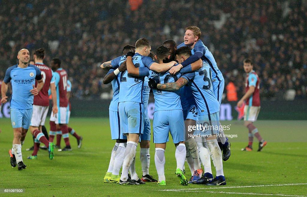 West Ham United v Manchester City - Emirates FA Cup - Third Round - London Stadium : News Photo