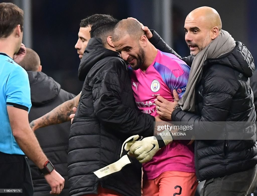 FBL-EUR-C1-ATALANTA-MAN CITY : News Photo