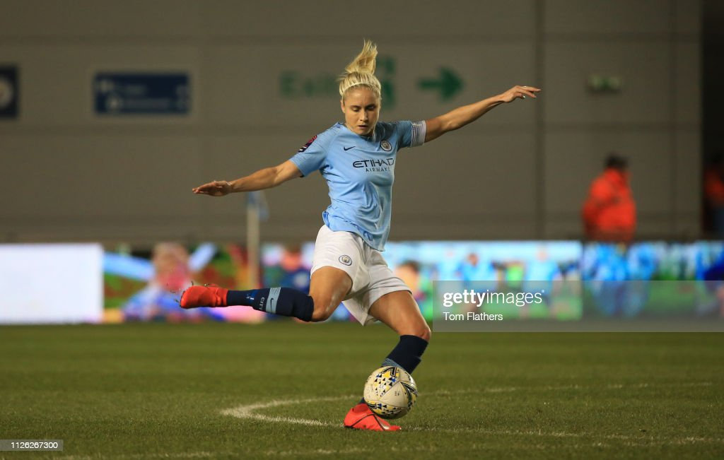 GBR: Manchester City Women v Everton Ladies: WSL