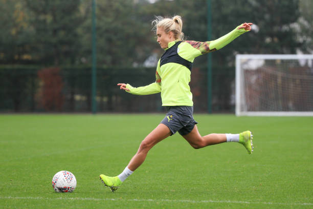 GBR: Manchester City Women Training and Press Conference