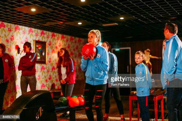 Manchester City's Steph Houghton on September 5 2017 in Manchester England