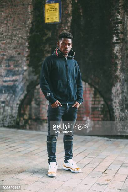 Manchester City's Tom DeleBashiru October 9 2017 in Manchester England