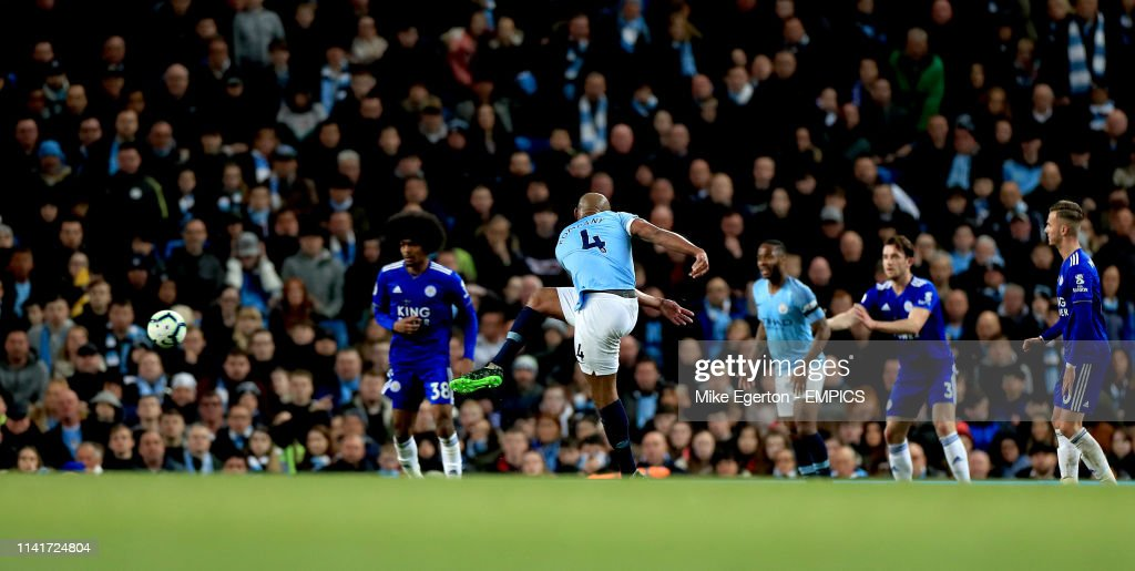 Manchester City v Leicester City - Premier League - Etihad Stadium : News Photo
