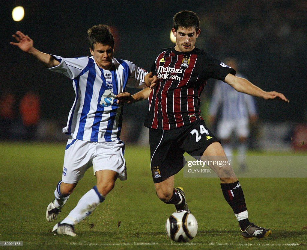Manchester City's  Welsh Striker Ched Ev : News Photo