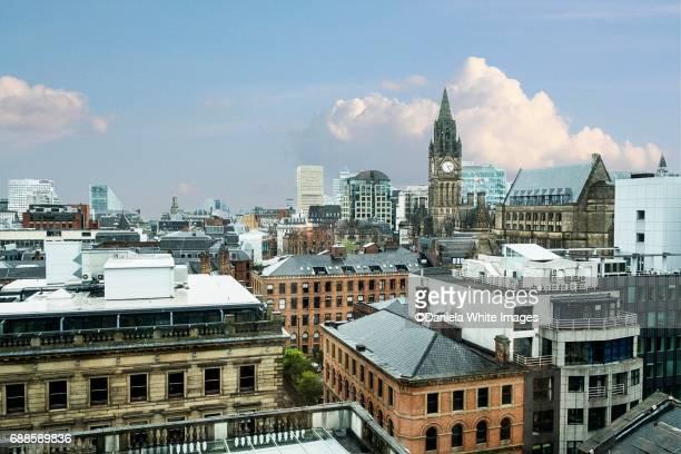 Manchester, cityscape, Middlands, England , UK