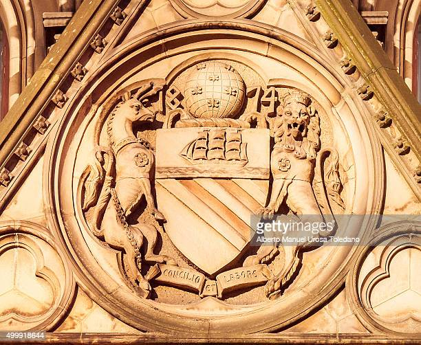 Manchester, Coat of Arms, Town Hall