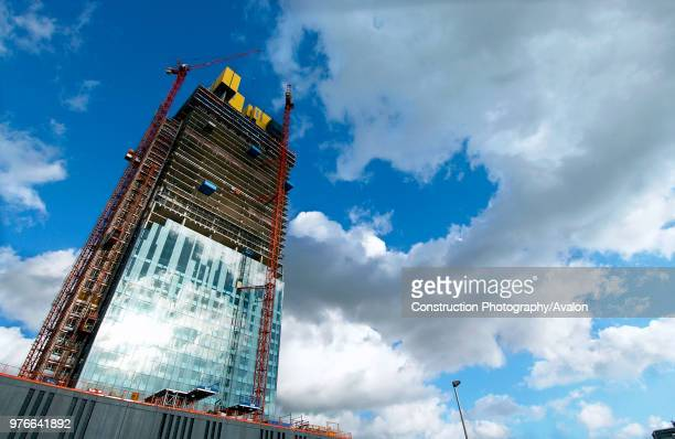 Manchester development The dramatic 171metre high glassclad 47 storey tower development expecting to cost around £150 million is the work of north...