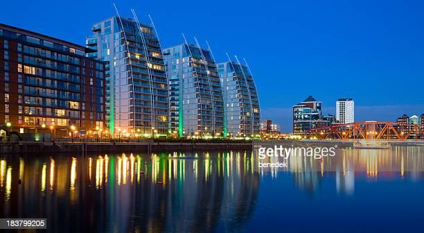 Manchester England UK Modern Apartments