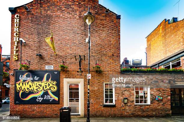 Manchester Gay Village, Manchester, UK - September 13, 2017