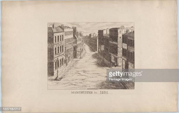 Manchester in 1851 1851 Artist George Cruikshank