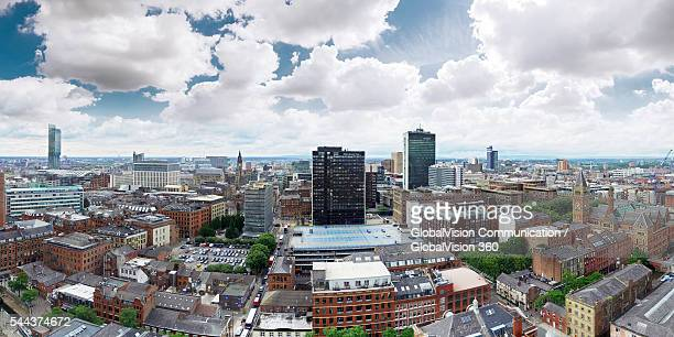 Manchester in Bird's-eye View