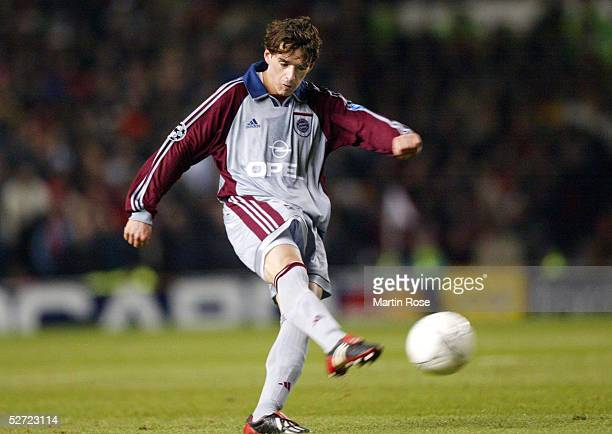 LEAGUE 01/02 Manchester MANCHESTER UNITED FC BAYERN MUENCHEN 00 Owen HARGREAVES/BAYERN