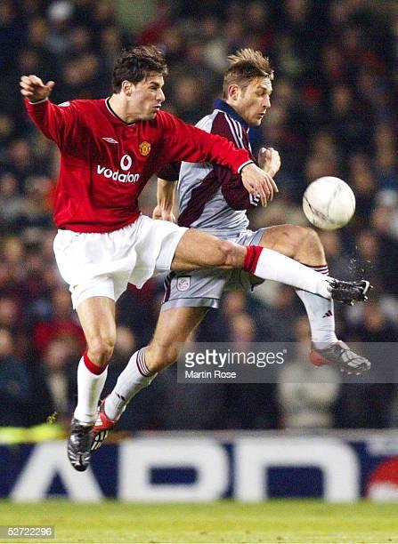LEAGUE 01/02 Manchester MANCHESTER UNITED FC BAYERN MUENCHEN 00 Ruud VAN NISTELROOY/MANU Robert KOVAC/BAYERN