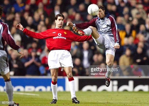 LEAGUE 01/02 Manchester MANCHESTER UNITED FC BAYERN MUENCHEN 00 Ruud Van NISTELROOY/MANU Thomas LINKE/BAYERN