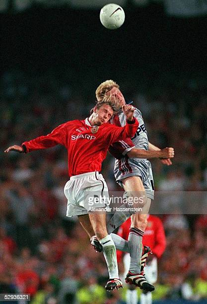 Manchester MANCHESTER UNITED FC BAYERN MUENCHEN 21 David BECKHAM/MANCHESTER Stefan EFFENBERG/BAYERN