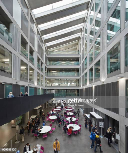 Manchester Metropolitan University Business School Manchester United Kingdom Architect Feilden Clegg Bradley Studios LLP 2012 View through...