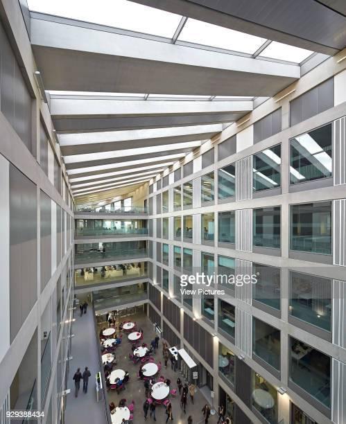 Manchester Metropolitan University Business School Manchester United Kingdom Architect Feilden Clegg Bradley Studios LLP 2012 Multistorey hub with...