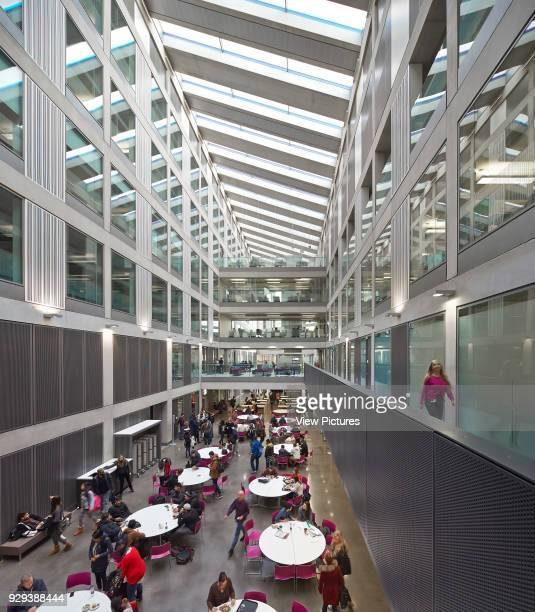 Manchester Metropolitan University Business School Manchester United Kingdom Architect Feilden Clegg Bradley Studios LLP 2012 View along 1st floor...