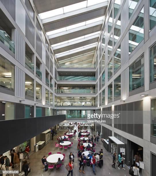 Manchester Metropolitan University Business School Manchester United Kingdom Architect Feilden Clegg Bradley Studios LLP 2012 Skylit atrium with...