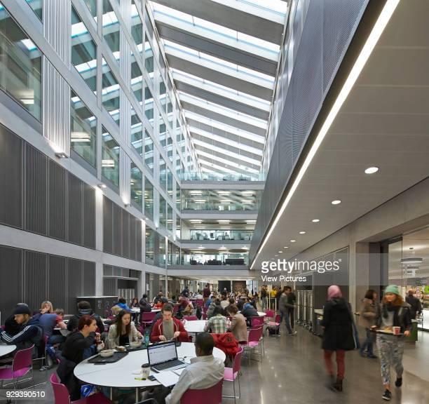 Manchester Metropolitan University Business School Manchester United Kingdom Architect Feilden Clegg Bradley Studios LLP 2012 Multifunctional social...