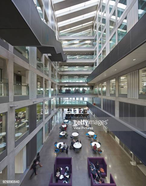Manchester Metropolitan University Business School Manchester United Kingdom Architect Feilden Clegg Bradley Studios LLP 2012 Elevated view of...