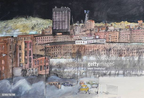 Manchester New Hampshire by Franklin McMahon