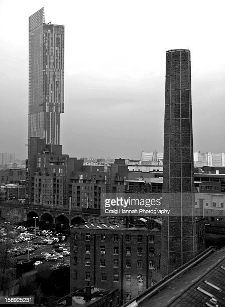 Manchester - old and new structures