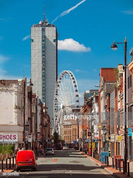 manchester, piccadilly gardens from northern quart - manchester england stock pictures, royalty-free photos & images