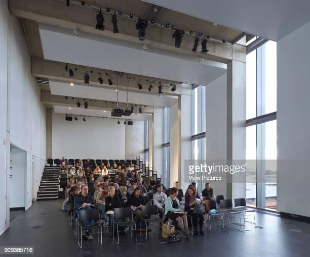 Manchester School of Art at MMU Manchester United Kingdom Architect Feilden Clegg Bradley Studios LLP 2014 Lecture hall
