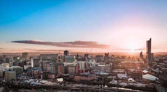 Manchester Skyline 1067367850