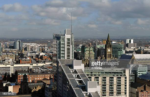 Skyline di Manchester