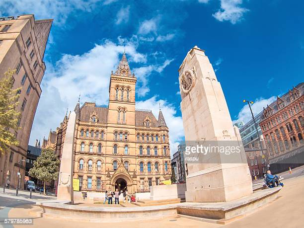 Manchester, town hall in St Peter´s sq.