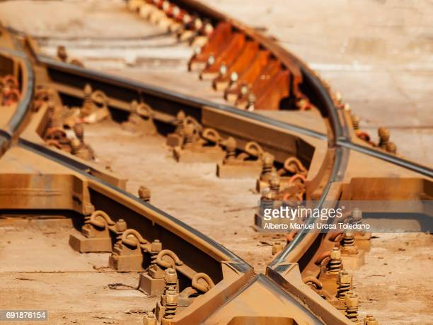 manchester, tracks at victoria train station - victoria station manchester stock pictures, royalty-free photos & images