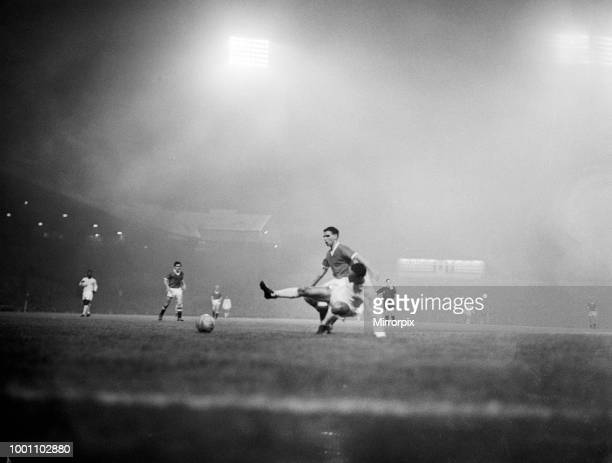 Manchester United 1 - 6 Real Madrid. Grand Challenge Match held at Old Trafford, 1st October 1959.