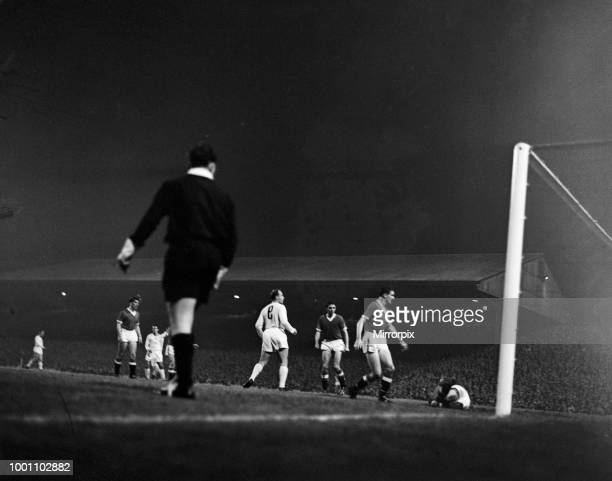 Manchester United 1 6 Real Madrid Grand Challenge Match held at Old Trafford 1st October 1959