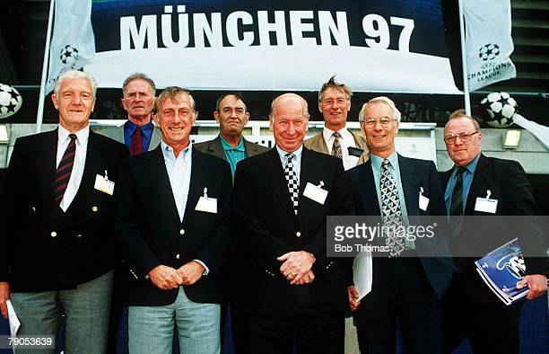 Manchester United Air Disaster Munich Germany 6th FEBRUARY 1958 39 years later Survivors of the 1958 Munich aircrash Bill Foulkes Harry Gregg Dennis...