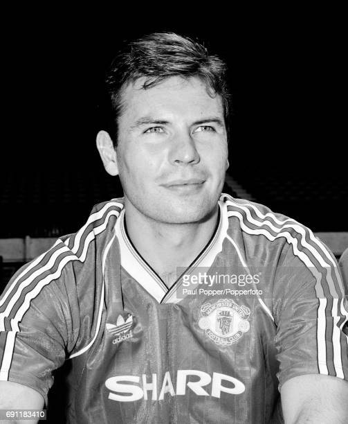 Manchester United and Scotland footballer Brian McClair circa August 1989