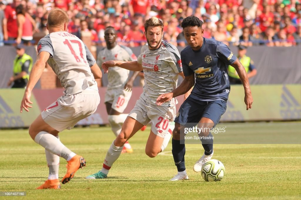 SOCCER: JUL 28 International Champions Cup - Manchester United FC v Liverpool FC : News Photo